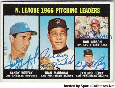 1967 NL Pitching leaders