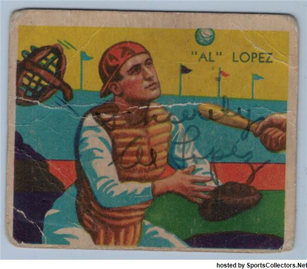 1934 Diamond Stars Al Lopez